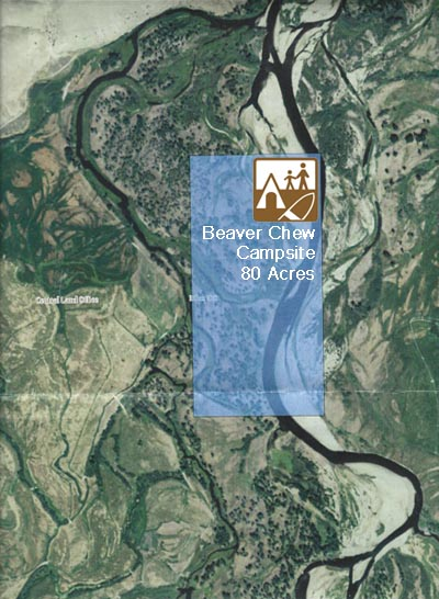 Aerial view of Beaver Chew Campsite.