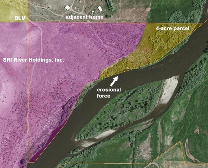 4-acre site detail.