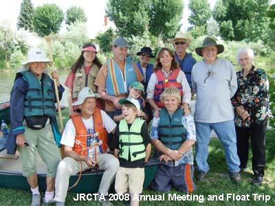 2008 Jefferson River Canoe Trail annual group float.