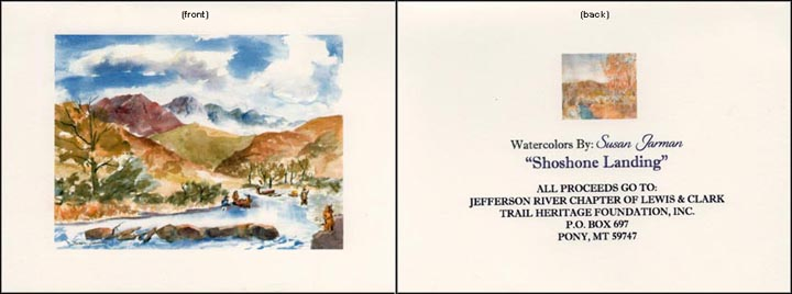 Jefferson River Note Card.